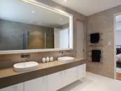 Led verlichting in de badkamer