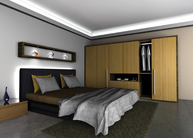Verlichting slaapkamer led modern woonkamer opbouw verlichting